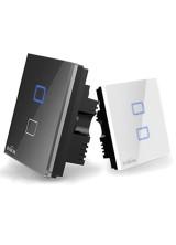 Broadlink TC2 Сенсорный выключатель на 2 канала управляемый с телефона