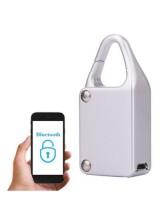 Умный электронный замок Nathslot Smart Lock Silver для iOS/Android устройств