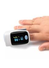 Fingertip Pulse пульсометр на палец с LCD дисплеем