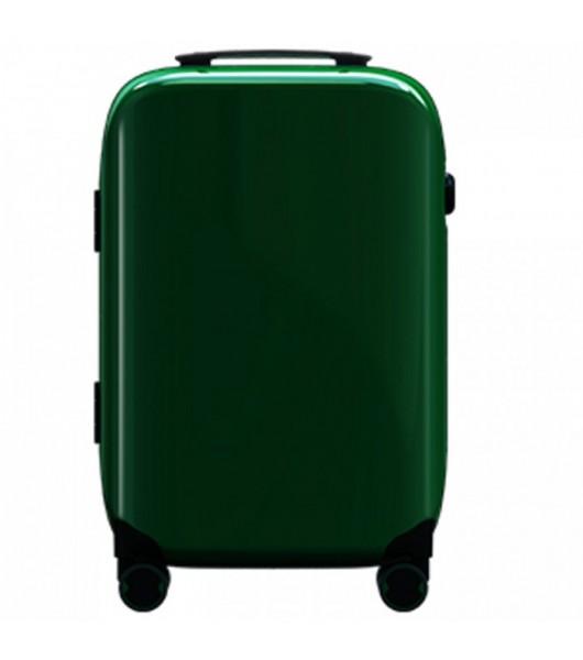Чемодан со сканером отпечатка пальцев Xiaomi 90-point Smart Fingerprint Unlocking Travel Case 20 дюймов (Green)