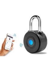 Умный электронный замок Anboud Smart Padlock с функцией сигнализации для багажа