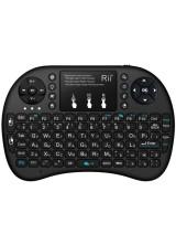 Мини клавиатура + аэромышь + пульт ТВ Rii mini i8 RUS (RT-MWK08+)