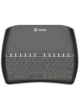 Беспроводная мини клавиатура с тачпадом и подсветкой VONTAR D8 i8 (RUS)
